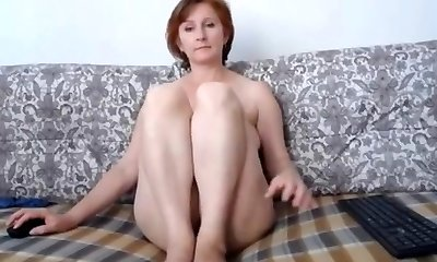 Russian momma supreme tits and lovely cooter