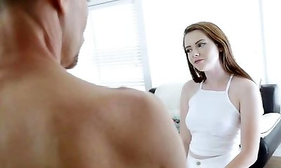 FamilyStrokes - Step-Daughter Seduces Daddy Infront Of Mom