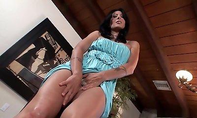 Incredible pornstar Zoey Holloway in horny solo, getting off porn flick