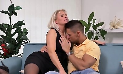 super-steamy mom and her lover on cams- Watch Part 2 on my website