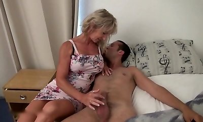 wonderful french milf ass fucked