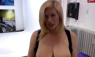 Mature euro slut swallows