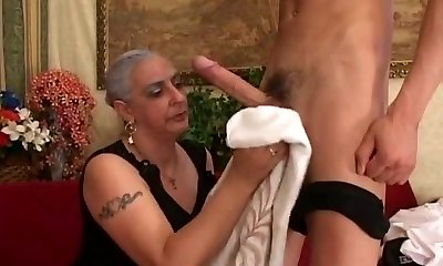 Granny Loves Good-sized Dick