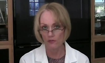 GILF Heads To Her Doc's Office