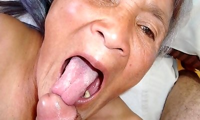 Old latina amateur grandma  with massive boobs and big ass