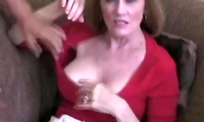 Wicked Three-way For Amateur GILF Melanie