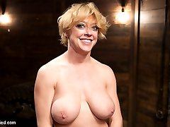 Darling is no stranger to tight rope and merciless orgasms, but this set of hard ties and ass...