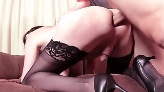 Mature Crossdressers Suck and Fuck
