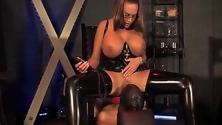 You need to please domme latex godess