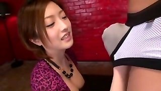 Mind-blowing Japanese whore Ai Haneda in Amazing DP/Futa-ana, Lingerie JAV video