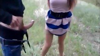 orosz lányt dönget