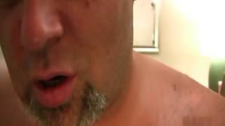 Kinky gay hairy man Uproarious Hixxx takes huge part2