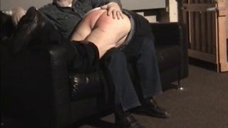 Older Daddy spanked by Onkel