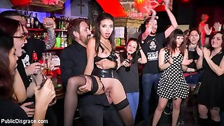 Underground Goth Club Turns Into A Wild Fuck Party - PublicDisgrace