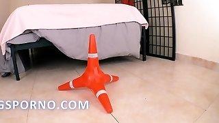 Traffic cone odd injection