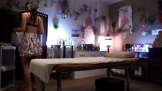 häpnadsväckande japansk nymf fuuka minase i exotiska duo, massage jav klipp