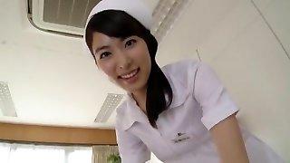 Kana Yume in Lewd Nurse Will Deepthroat You