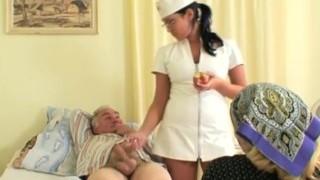 Teenie Nurse Gets a Show
