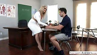 phat perse valge tüdruk õppejõud alexis texas, saab isikliku tema perversne õpilane