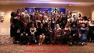 domcon new orleans 2017 ženskej nadvlády domme gang fotenie
