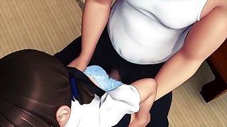 Hot Hentai Girl Drilling 3D