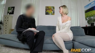 Fake Cop Killer single MILF seduces uniformed policeman