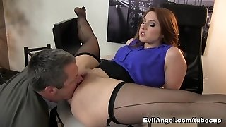 Wonderful pornstars Jimmy Broadway, Rose Red in Amazing Red-haired, Big Ass xxx video