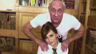18yr Old Ass Licks Elderly Man Ben Dover and Friend