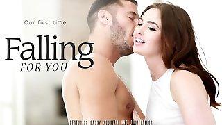Jodi Taylor & Danny Mountain in Falling For You Video