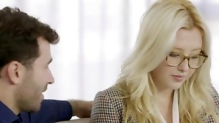 TUSHY Very First Buttfuck For Blonde Samantha Rone