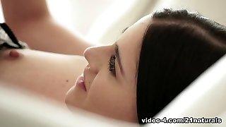 Unbelievable pornstar Eveline Dellai in Crazy Lingerie, Small Tits lovemaking movie