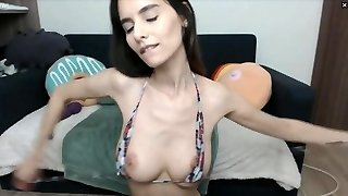 Huge Creamy Drizzle From Thin Girls Pussy