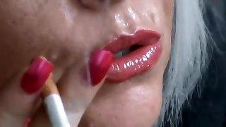 Smoking towheaded