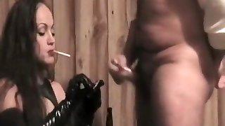 Insatiable pornographic star in exotic smoking, straight xxx scene