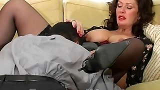 Hardcore mature fucked with big cock