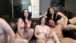 Swingers loves group orgy