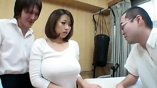 Extraordinaire Japanese nymph Neiro Suzuka in Crazy Cougar, Big Tits JAV sequence