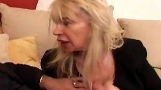 PRANTSUSE KÜPS n40 blond, kole moms vieille salope