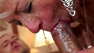 Jizz into the mouth of mothers and grandmoters