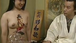 Divertimento Con Tatuato Slut Asiatico