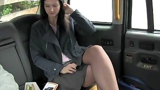 FakeTaxi Brown-haired exhibitionist loves cameras