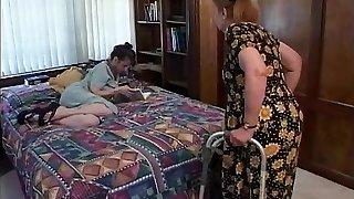 Mature brunette indulges in steaming blow-job sex