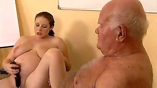 Grandpa Fucks Preggie Teen