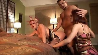 Wife Catches Her Husband Fucking His Emo Mistress In The Ass