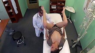 Doctor Love's Office-College Girl Checkup-by PACKMANNS