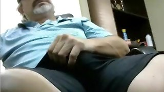 Scorching redneck dad with thick cock