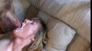 submissive milf loves anal and cum...