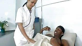 Mya Gee giant bubble butt 's Nurse...F70