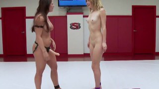 Competitivo Lesbiche Wrestling