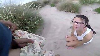 a la plage avec un spycam pas discret :d